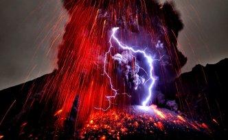 Fulmine vulcanico