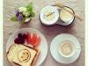 Toast e formaggio