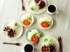 Frutta e waffle