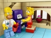 Homer e Lisa di Lego