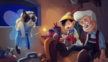 Grumpy Cat nei film di animazione Disney