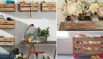 Come riutilizzare le cassette della frutta per arredare casa