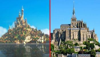 12 Luoghi reali che hanno ispirato i film Disney