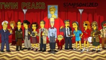15 Personaggi di Twin Peaks in versione Simpson