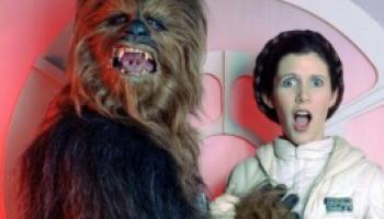 51 Immagini spettacolari scattate dietro le quinte di Star Wars