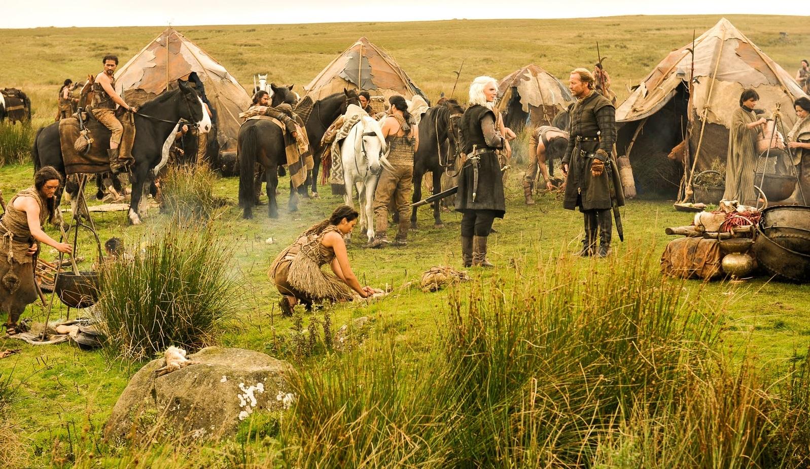Accampamento dei Dothraki