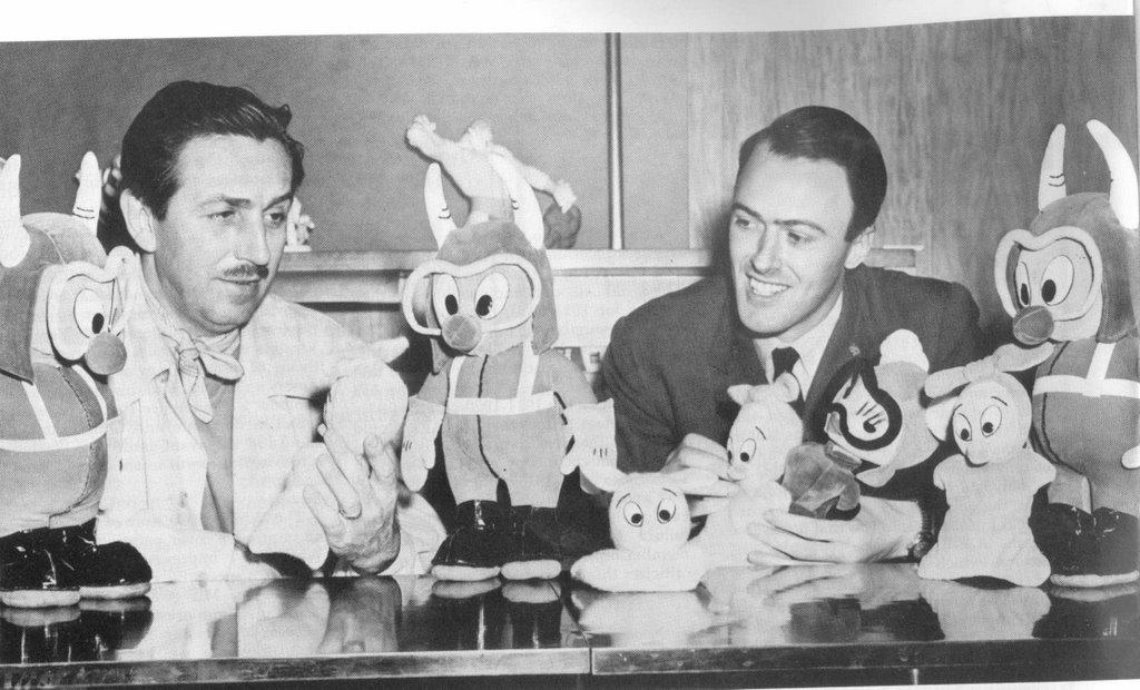 Walt Disney e Roald Dahl