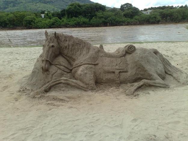 Cavallo di sabbia