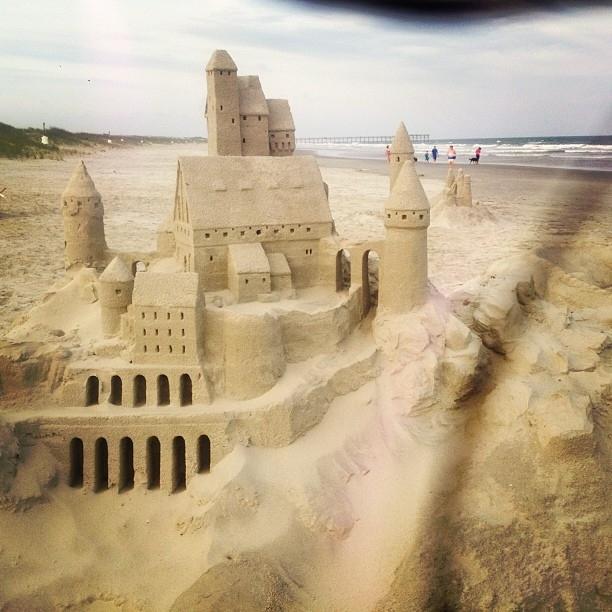 Tipico castello di sabbia