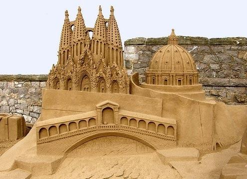 Riproduzioni in sabbia