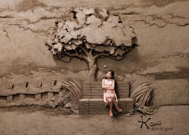 Opera d'arte di sabbia
