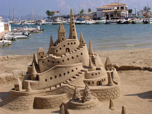 Castello di sabbia classico