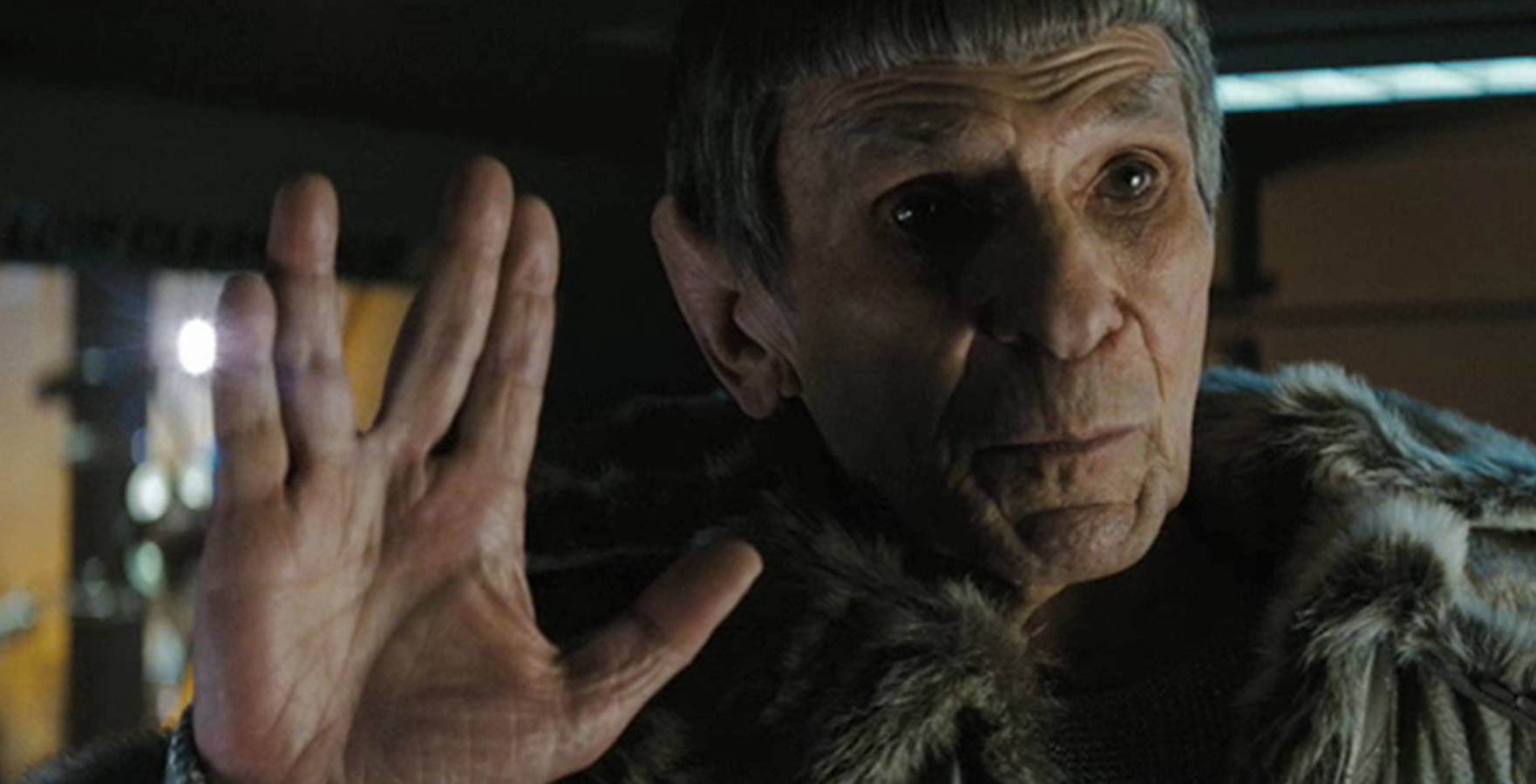 Leonard Nimoy in Star Trek 2009