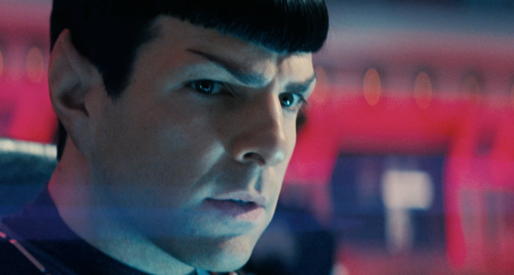 Zachary Quinto in Star Trek Into Darkness