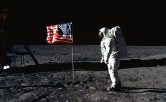 Bandiera che sventola