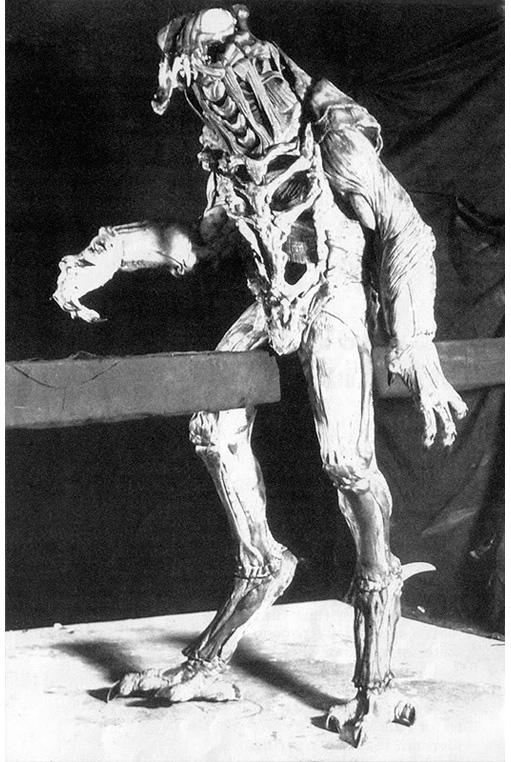 Costume da Predator di Jean-Claude Van Damme