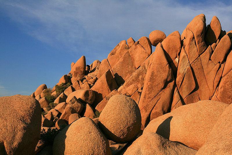Rocce del Parco Nazionale di Joshua Tree