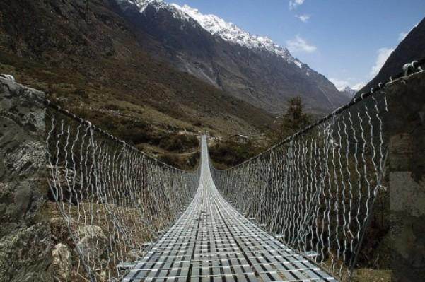 Valle di Langtang in Nepal
