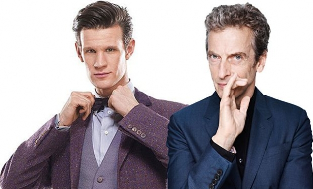 Matt Smith e Peter Capaldi