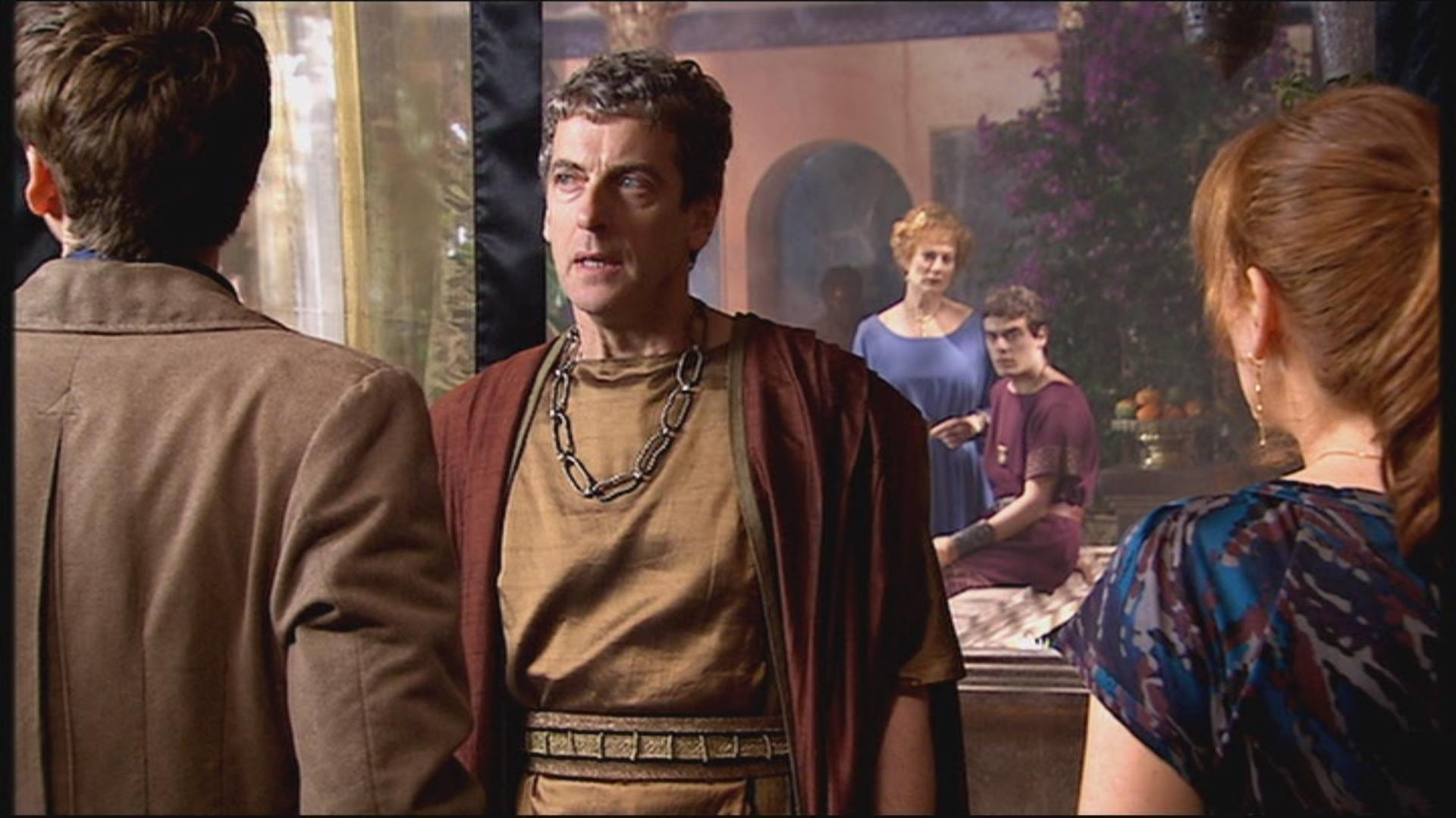 Peter Capaldi in The Fires of Pompeii