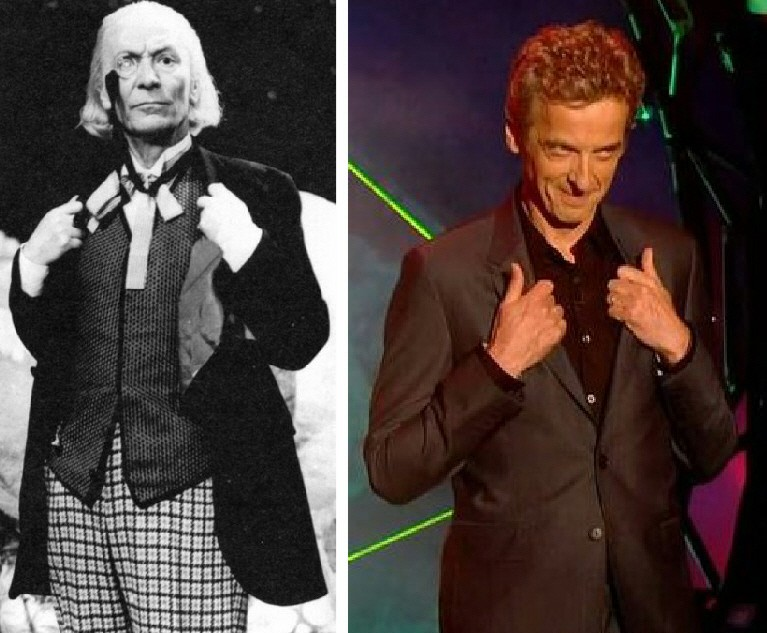 Il tributo a William Hartnell