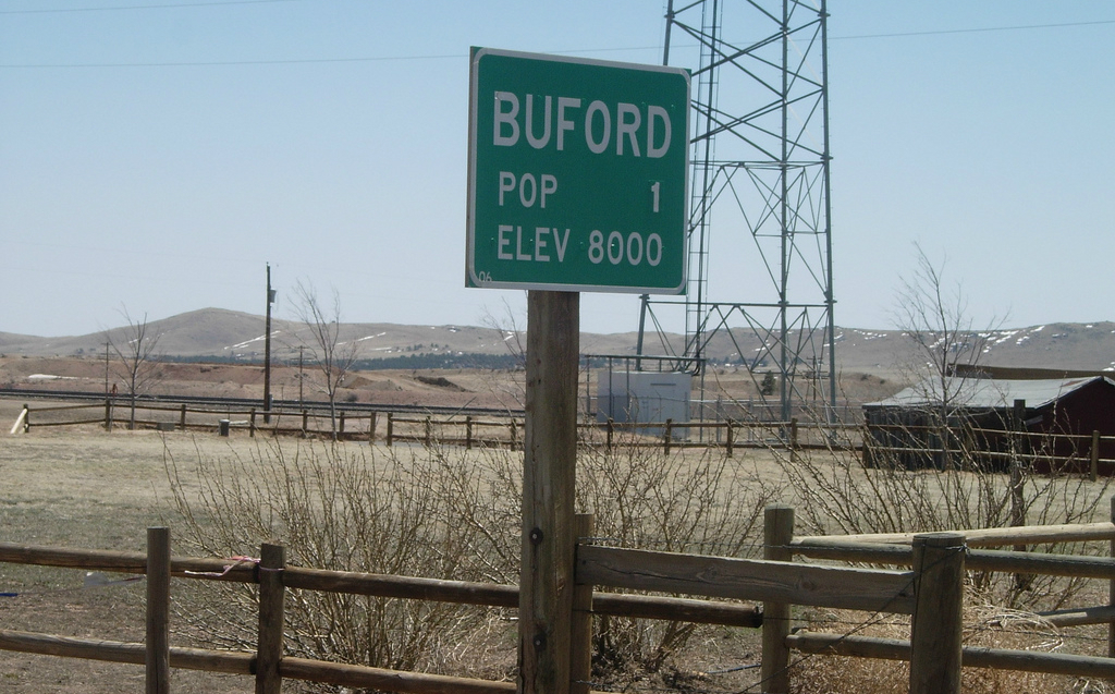 Buford in Wyoming