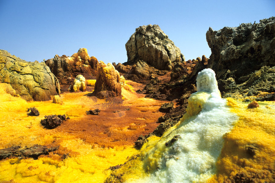 Dallol in Etiopia