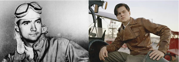 Howard Hughes - Leonardo DiCaprio (The Aviator)