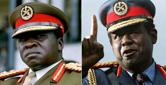 Idi Amin - Forest Whitaker (The Last King of Scotland)