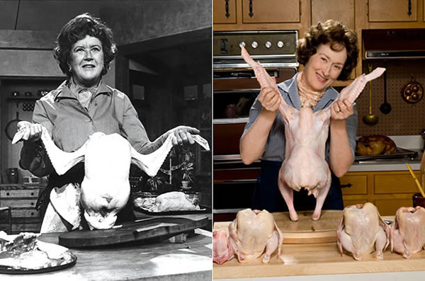 Julia Child - Meryl Streep (Julie Julia)