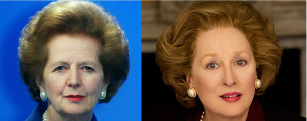 Margaret Thatcher - Meryl Streep (The Iron Lady)