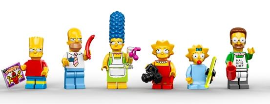 Set Lego dei Simpson 2014