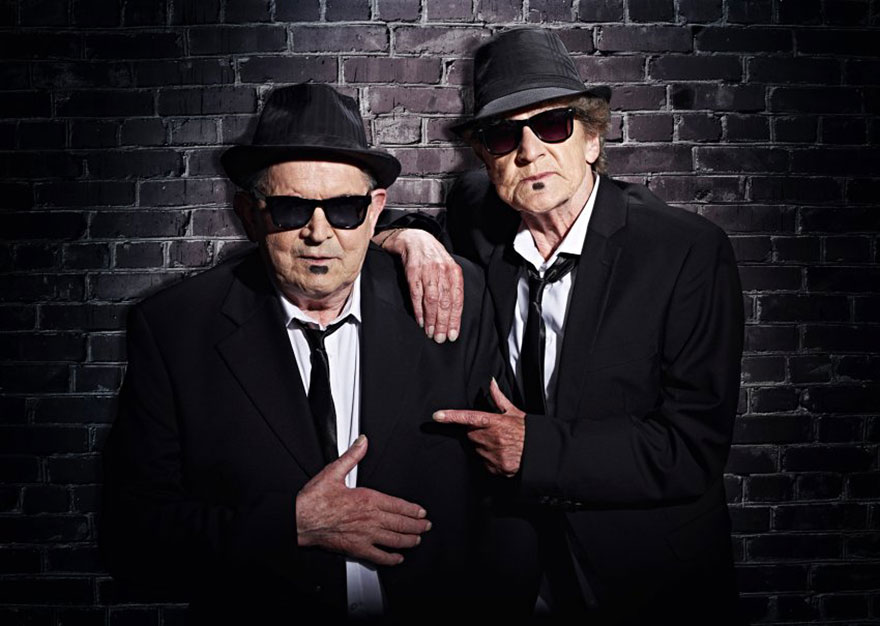 Blues Brothers con anziani