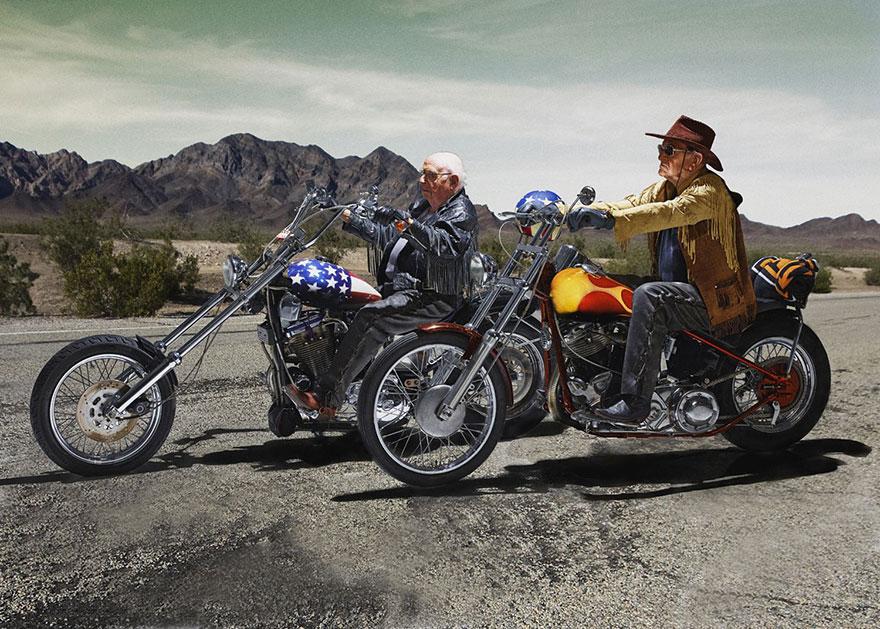 Easy Rider con anziani
