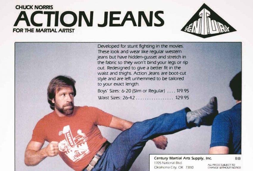 Action Jeans di Chuck Norris