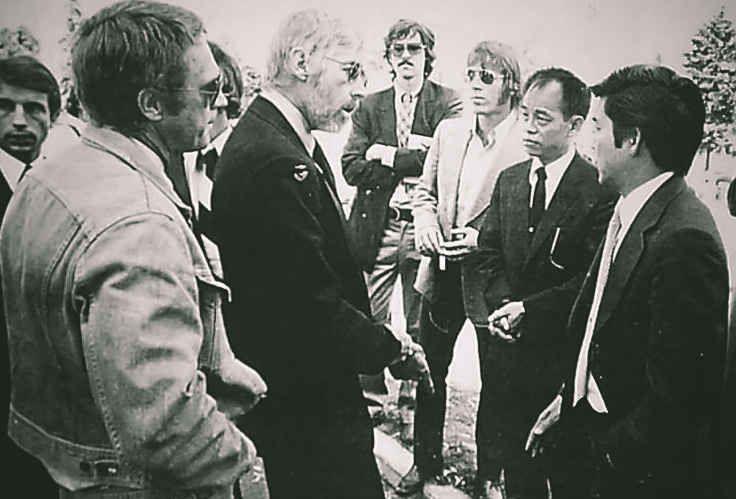 Chuck Norris e Steve McQueen