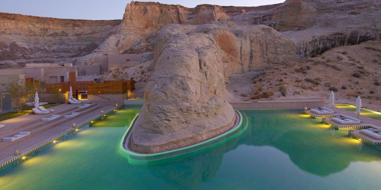 Piscina di Amangiri Resort