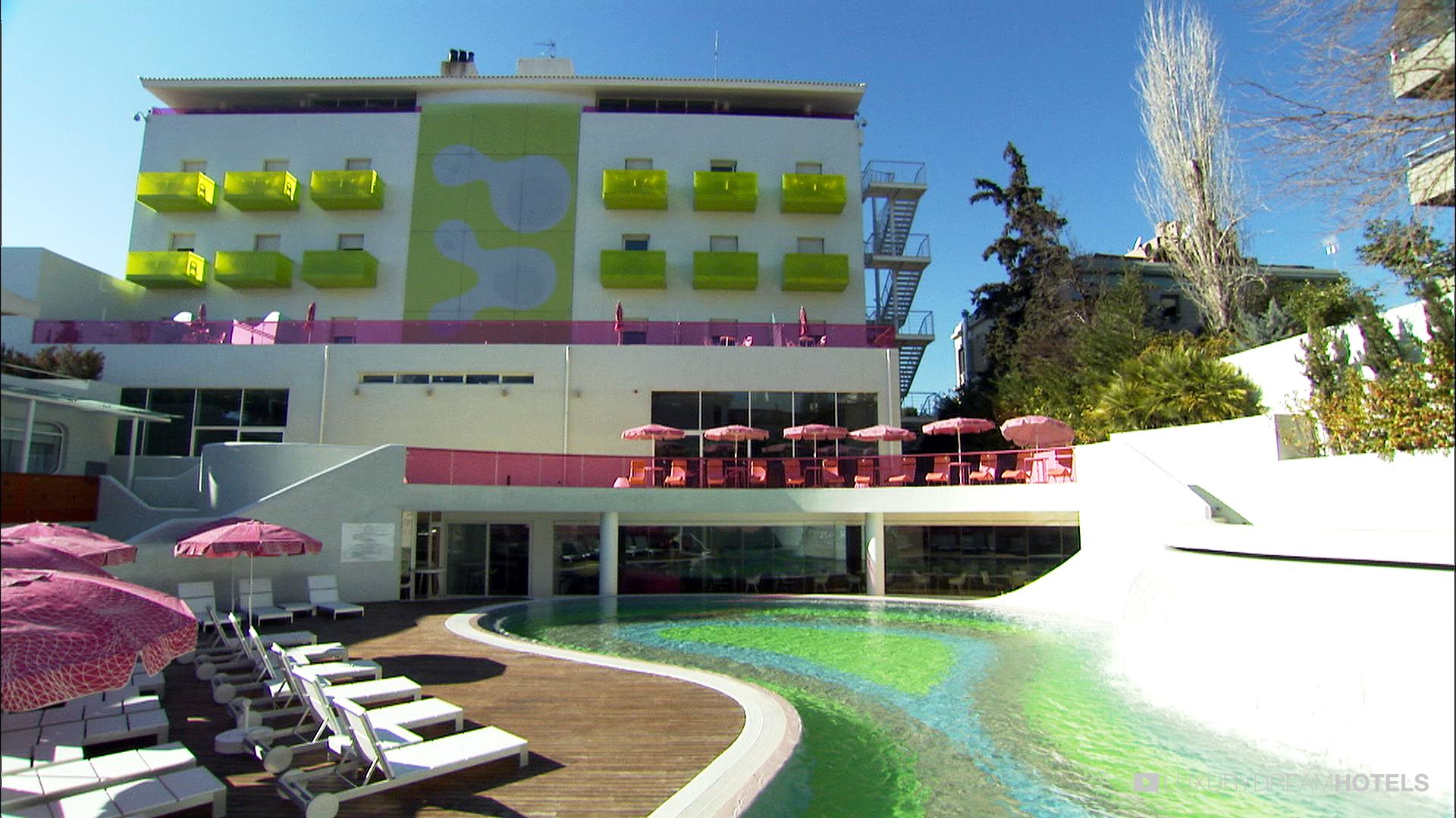 Piscina di Semiramis Hotel