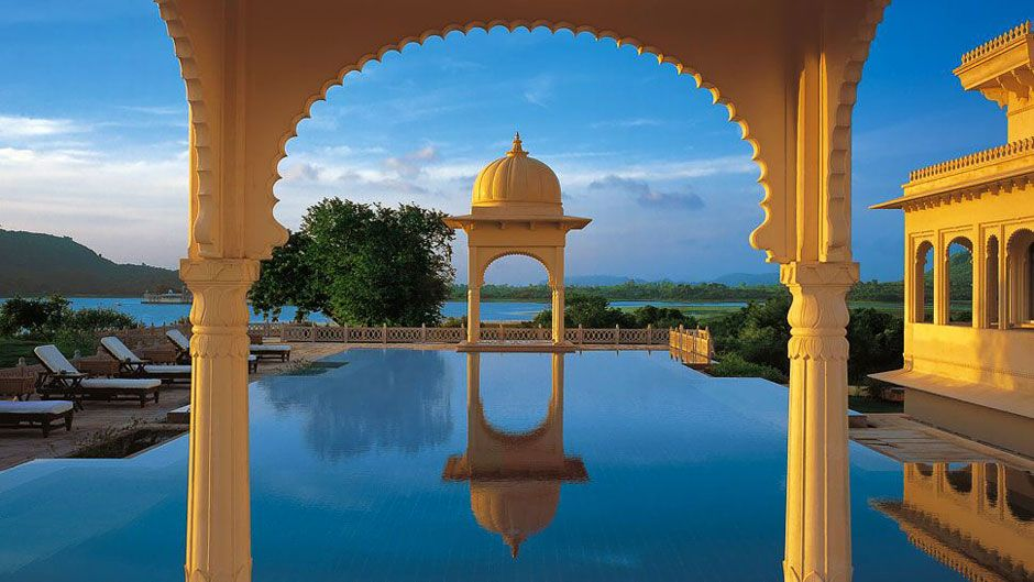 Piscina di The Oberoi Udaivilas