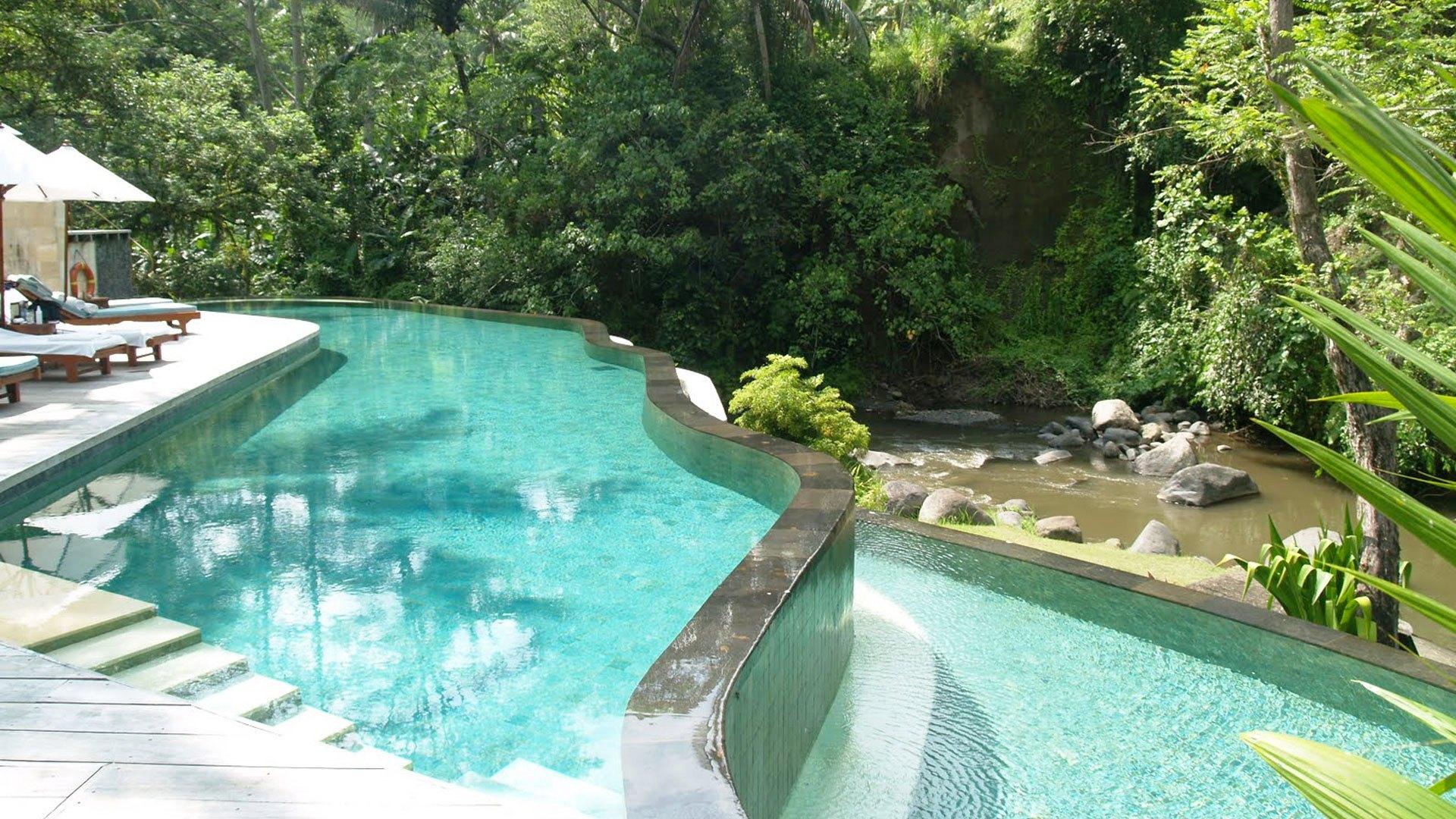 Piscina di Ubud Hanging Gardens