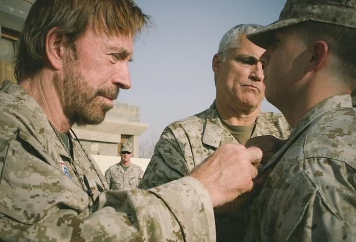 Servizio militare di Chuck Norris