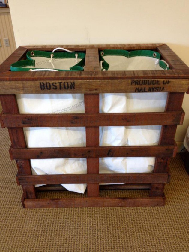 Arredare con i pallet: 41 idee per il riuso dei bancali di legno ...