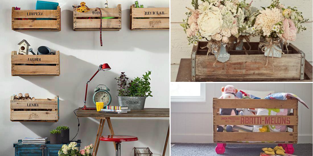 Come riutilizzare le cassette della frutta per arredare casa gizzeta - Come utilizzare i pallet per arredare casa ...