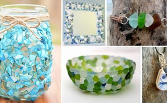 Idee creative con i vetrini della spiaggia