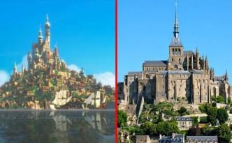 Luoghi reali che hanno ispirato i film Disney