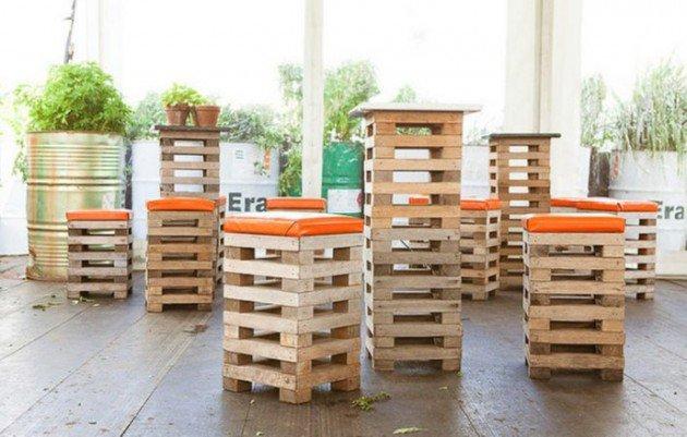 Arredare con i pallet: 41 idee per il riuso dei bancali di legno