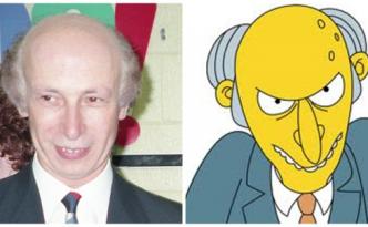 Il signor Burns dei Simpson