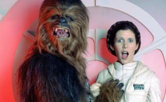Backstage di Star Wars
