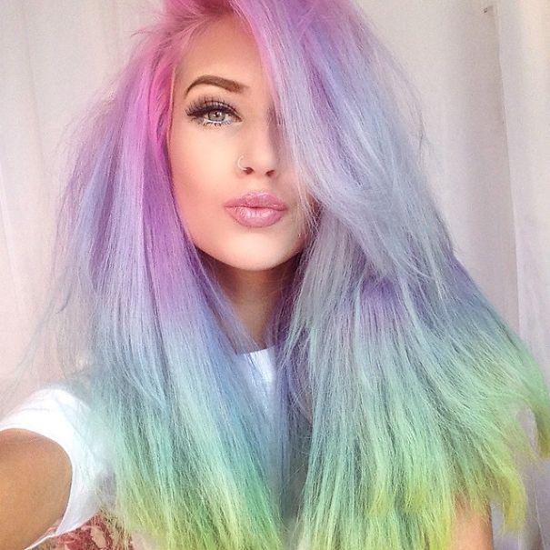 25 tinte per capelli color pastello per stupire al primo for Tinte per capelli non nocive