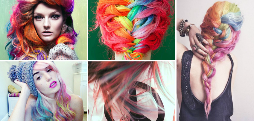 Tinte per capelli color pastello